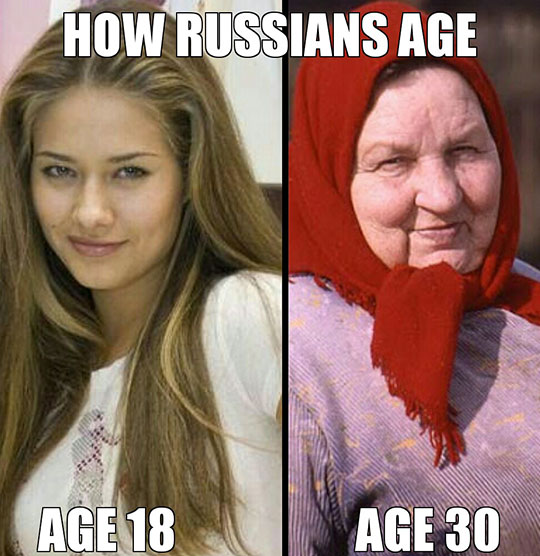funny-Russian-girl-old-woman-aging