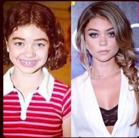 Sarah Hyland Oh, the puberty
