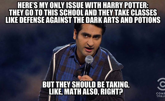 funny-comedian-Harry-Potter-Hogwarts-curriculum