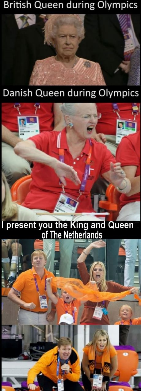 funny netheralds royal family olympics1 royal family