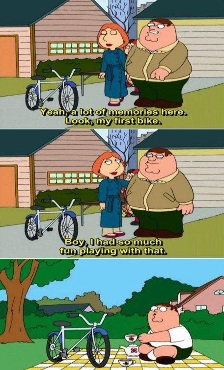 funny-peter-griffin-first-bike