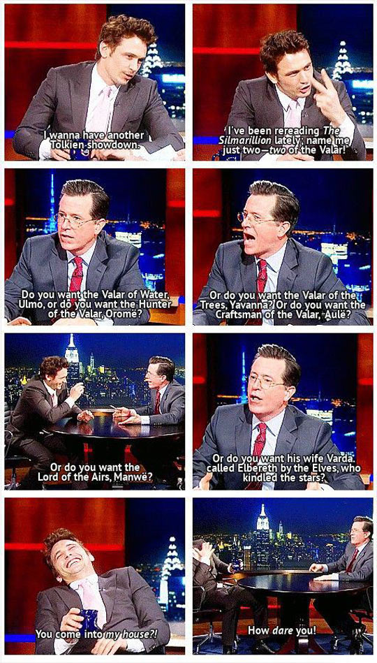 funny-James-Franco-Stephen-Colbert-Tolkien