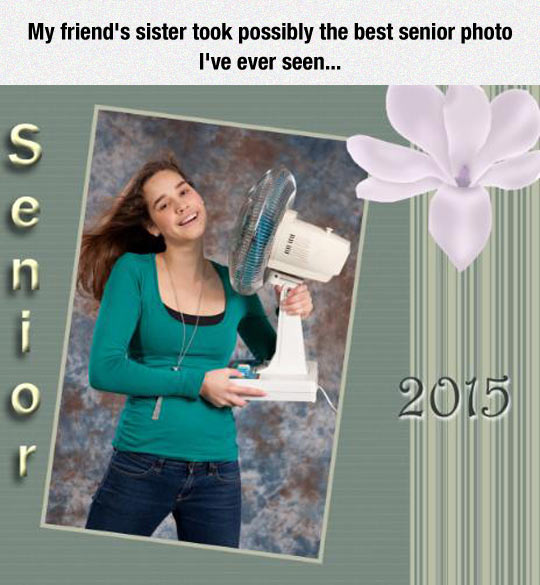 funny-Senior-photo-fan-girl