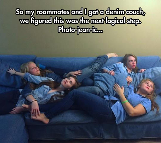 funny-couch-roommate-denim-jean