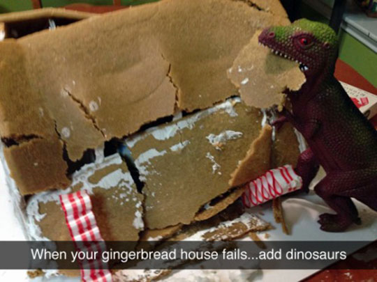 funny-dinosaur-gingerbread-house
