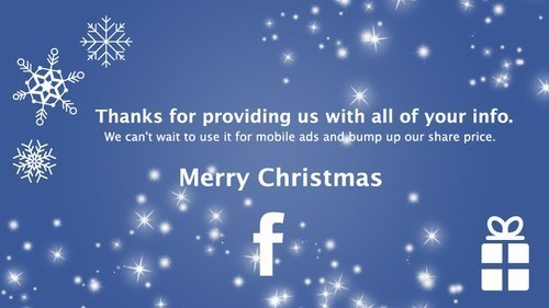 Facebook Wishes You Merry Christmas