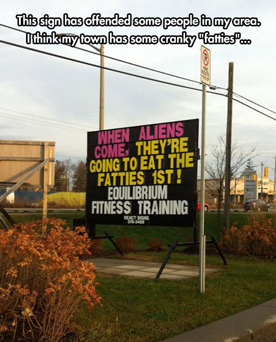 funny-gym-sign-fat-people-aliens