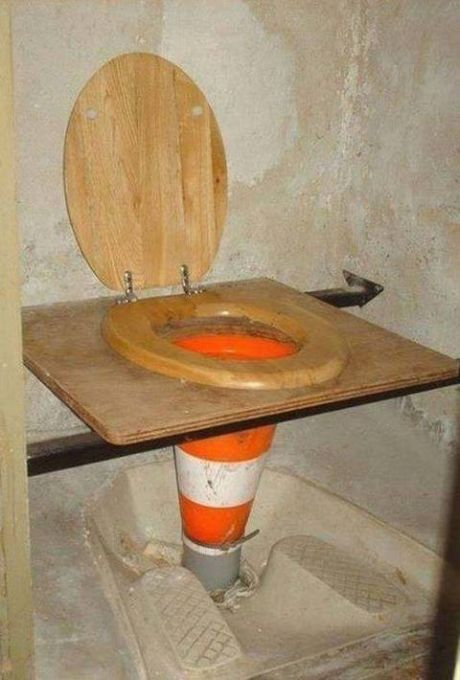 funny-toilet-cone-nailed-it