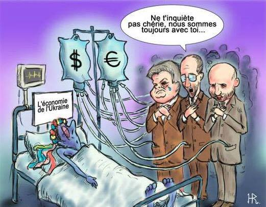 caricature-ukraine-economy-politicians