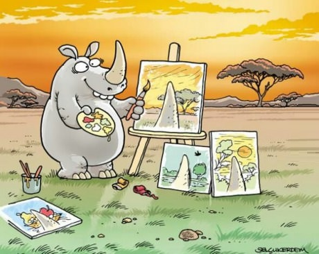 comics-rhinoceros-painting-perspective