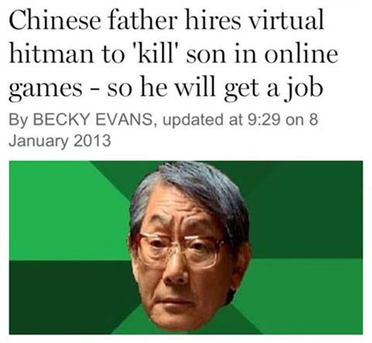 funny-Chinese-father-hires-virtual-hitman-online-game