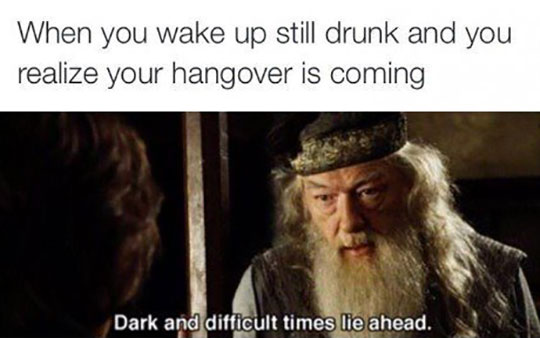 funny-Dumbledore-drunk-waking-up
