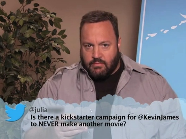 Kevin James: Mean Tweets