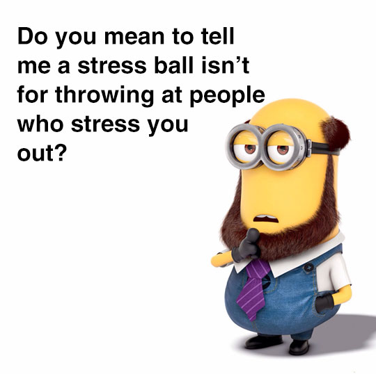 funny-Minion-laughing-stress-people