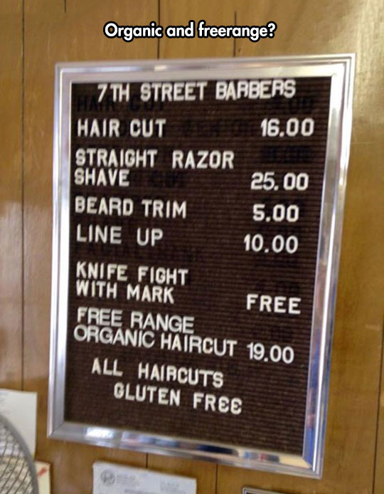 funny-hair-cut-gluten-free-sign