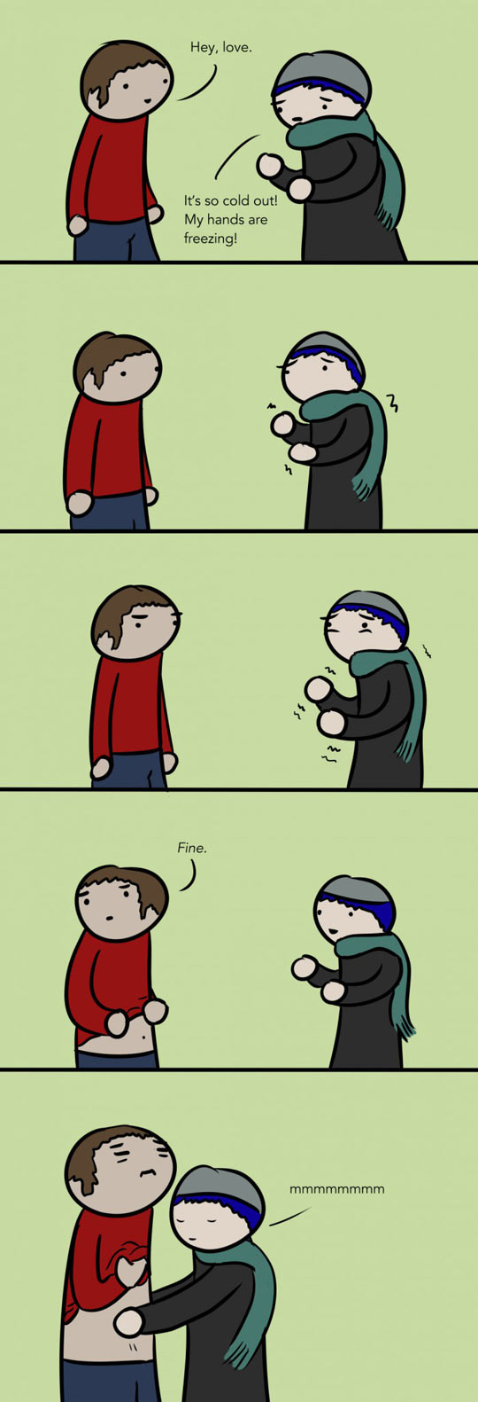 funny-love-girlfriend-cold-hands-belly