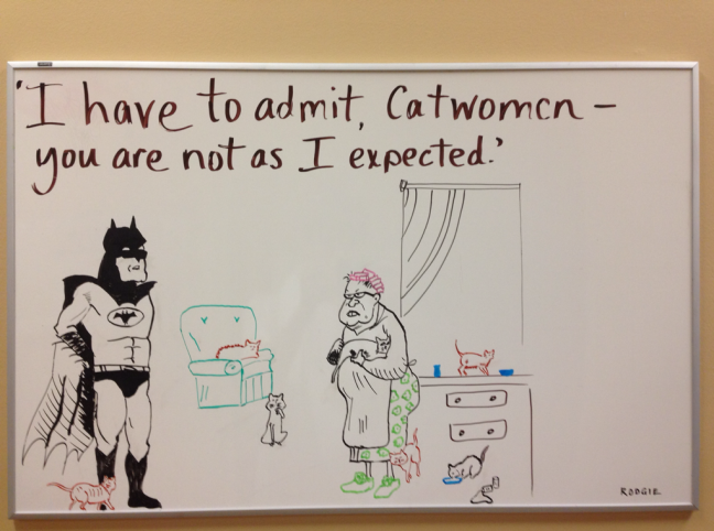 Catwoman Today