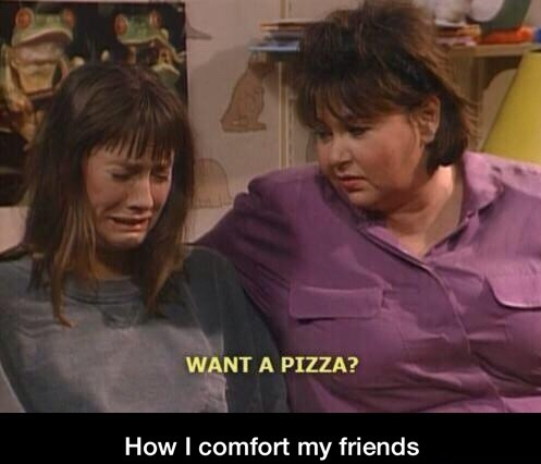 comfort-friends-pizza-crying