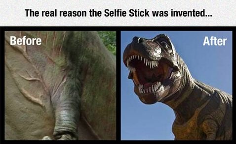 dinosaur-selfie-stick-real-reason