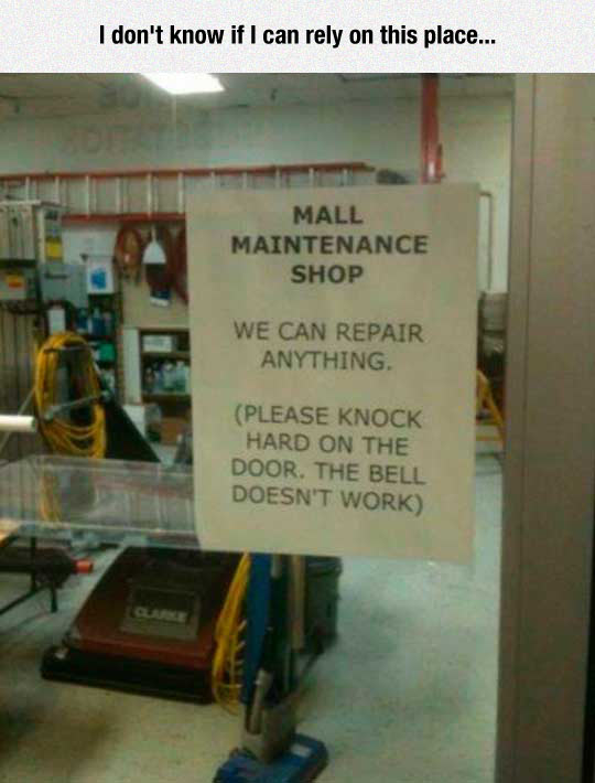 funny-mall-maintenance-shop-repair-bell