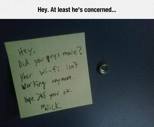 funny-note-WiFi-signal-neighbor-concern