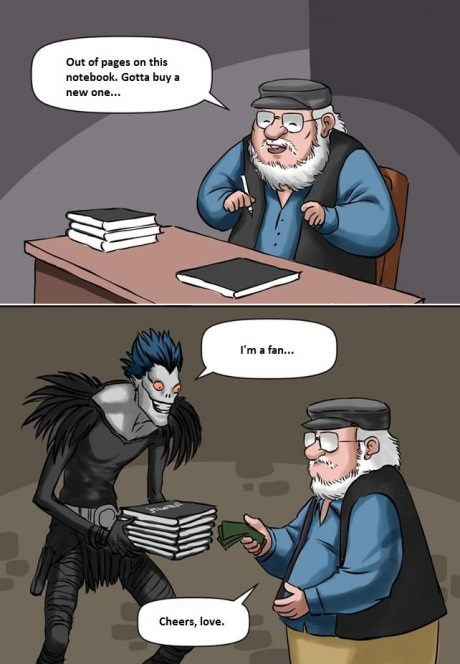 george-martin-death-note