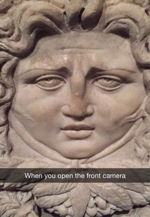 open-front-camera