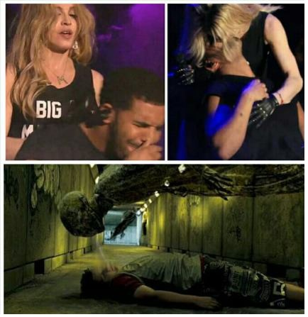 madonna-drake-kiss-harry-potter