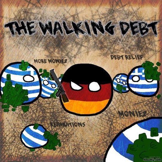 the-walking-debt-greece-germany