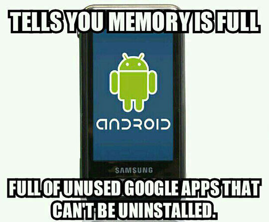 funny-Android-phone-memory-full