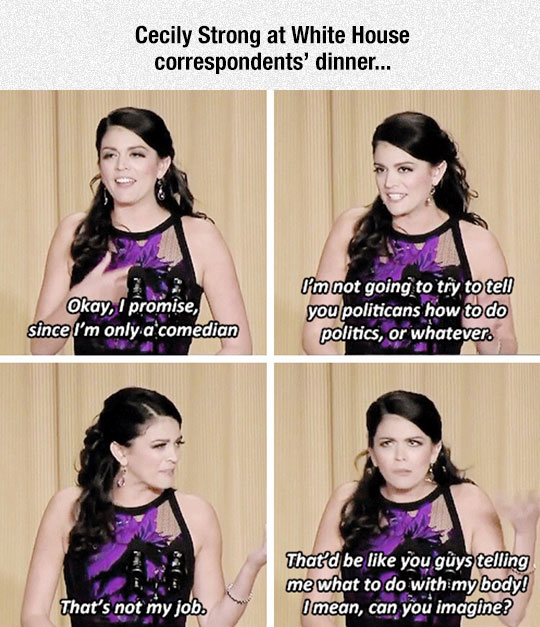 funny-Cecily-Strong-White-House-dinner