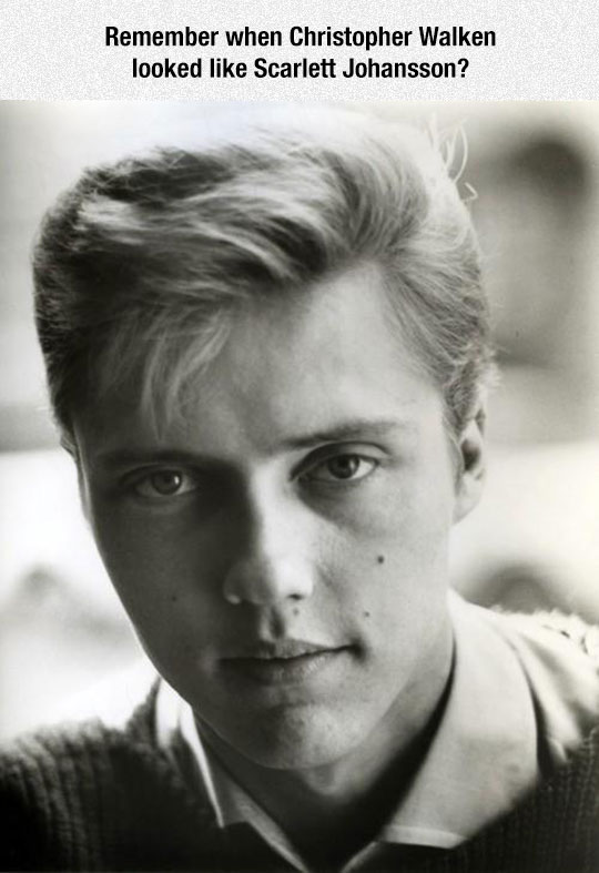 funny-Christopher-Walken-Scarlett-Johansson-lookalike