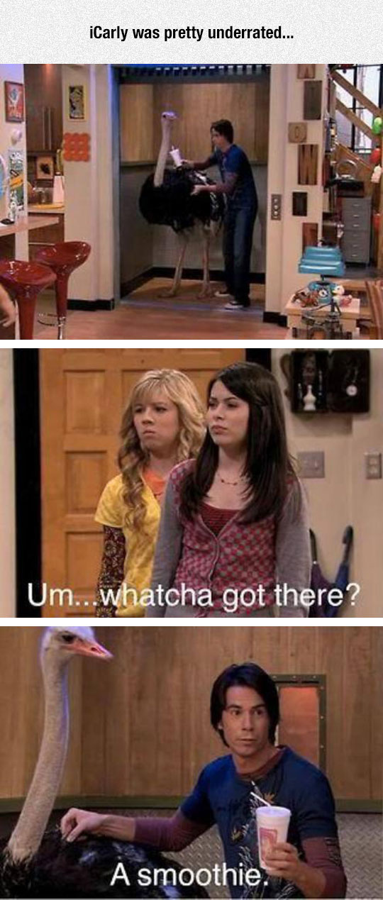 funny-iCarly-ostrich-elevator-question