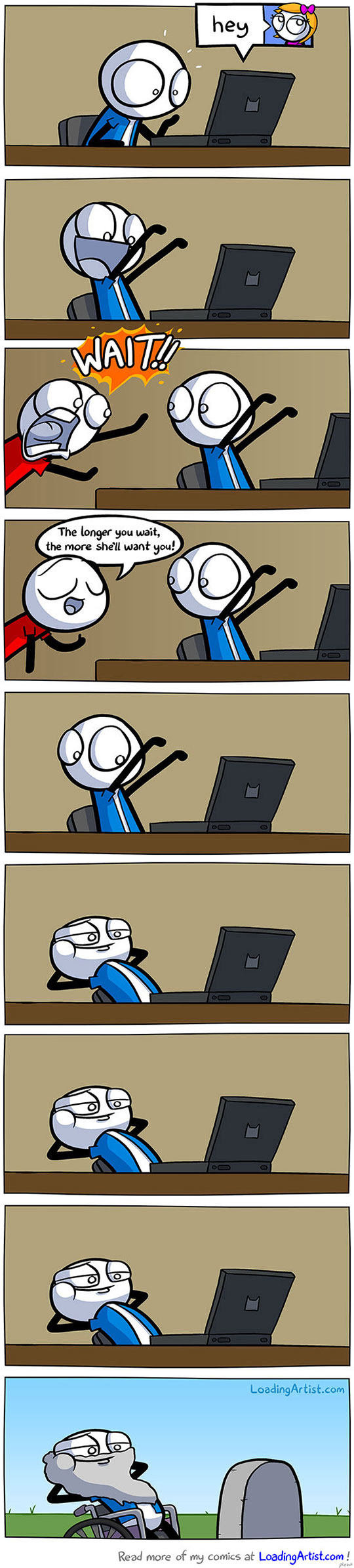 funny-webcomic-computer-message-girl-waiting