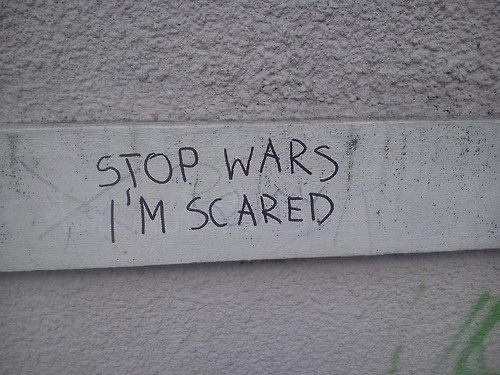 stop-wars-scared-sign