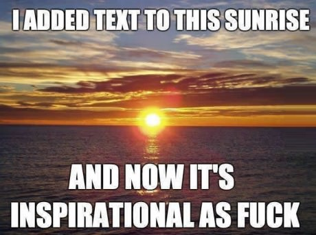 text-sunset-inspirational-quote