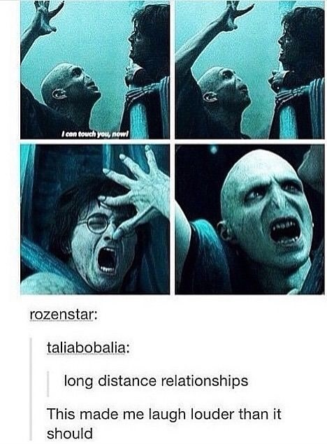 Funny Memes About Long Distance Relationships : Harry potter