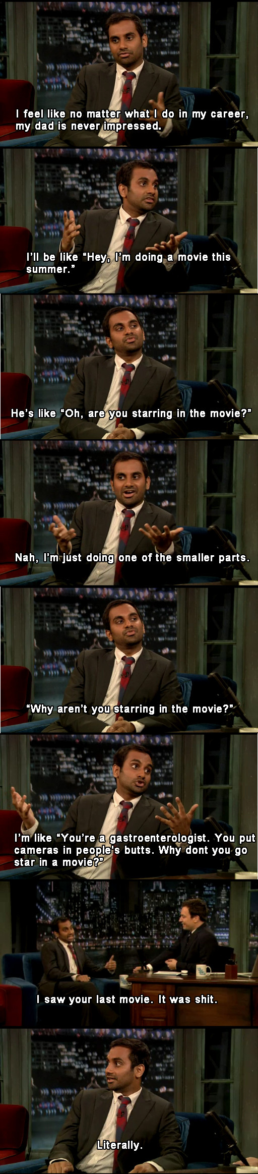 aziz-ansari-father-actor-job
