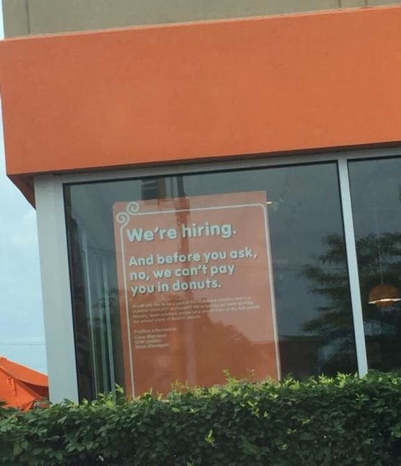 donuts-place-hiring-sign