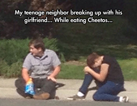funny-guy-breaking-up-girlfriend-eating-Cheetos