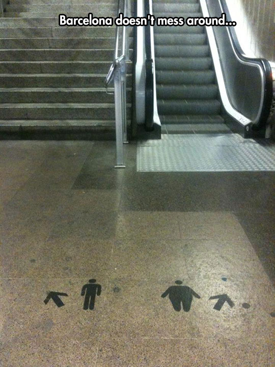 funny-stairs-escalator-sign-fat-thin-people