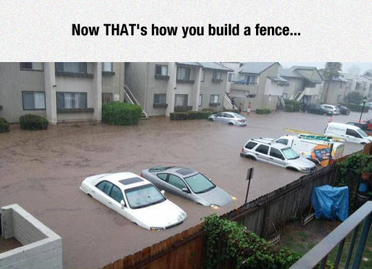 funny-fence-water-raining-cars