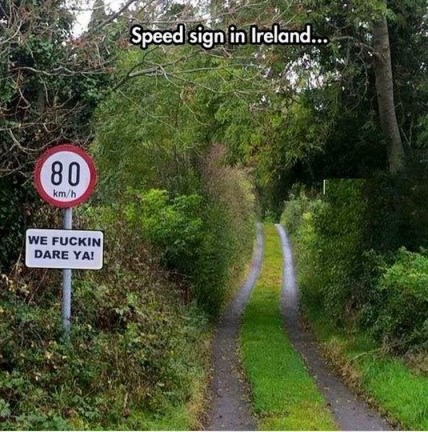 speef-sign-ireland-road