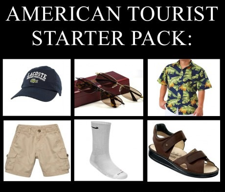 american-tourist-starter-pack