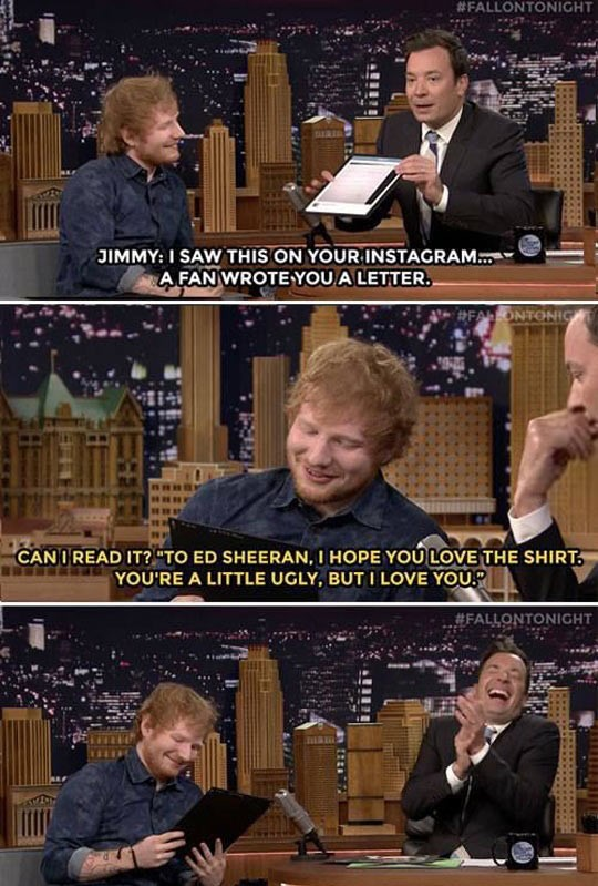 funny-Ed-Sheeran-interview-ugly