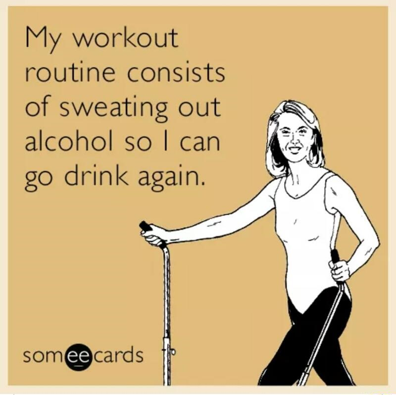 workout-routine-alcohol-drnk