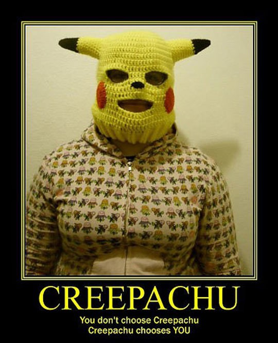 cool-Pikachu-mask-creepy