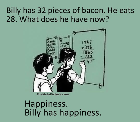 Billy has happiness