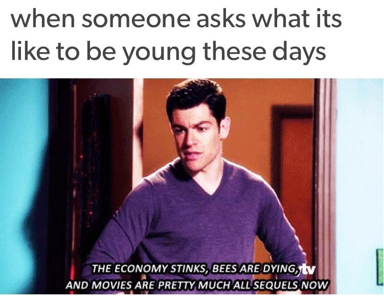 being-young-these-days