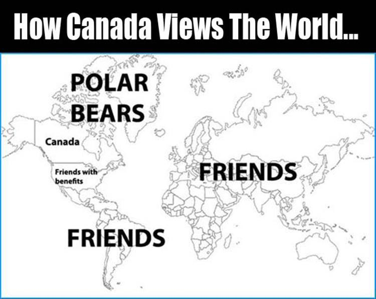 How Canada Views The World